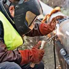 Gas Pipe Welding