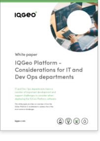 Considerations for IT and Dev Ops departments