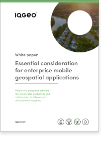 Mobile geospatial applications in the enterprise white paper