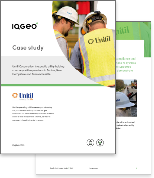Unitil and IQGeo Inspection & Survey