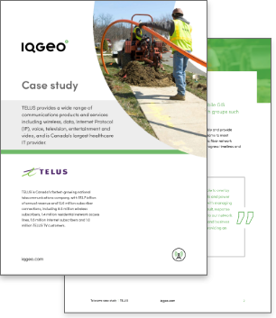 TELUS and IQGeo Platform roll out