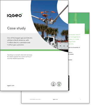 IQGeo gas and electric utility case study